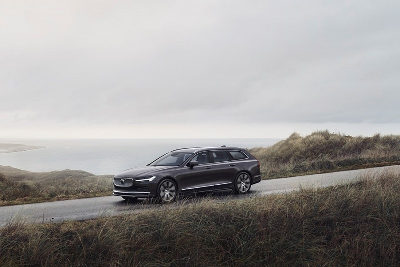 Exterior view of the Volvo V90