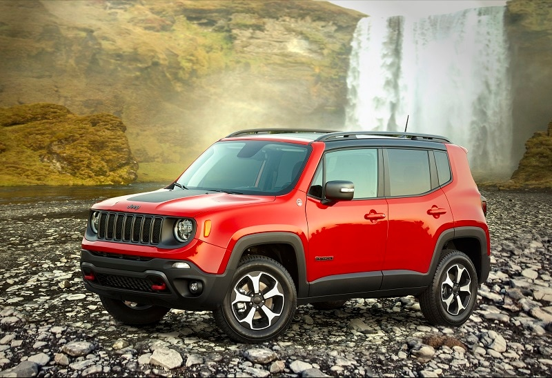 Exterior view of the Jeep Renegade