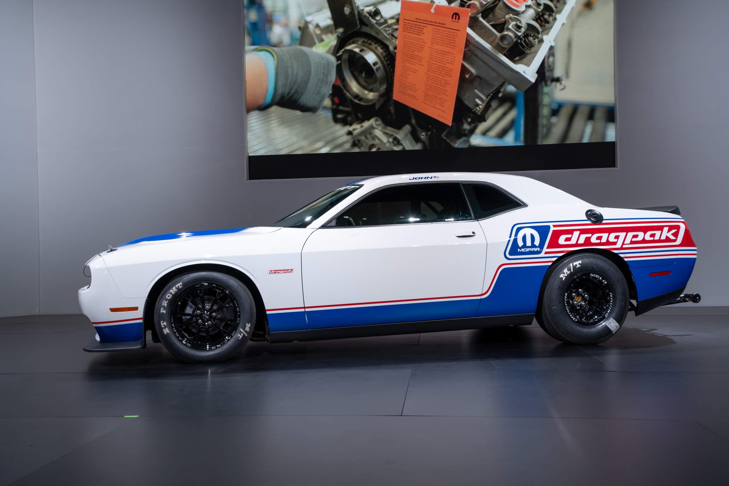 The Dodge Challenger Drag Pack is prepped at the factory to slay at the strip