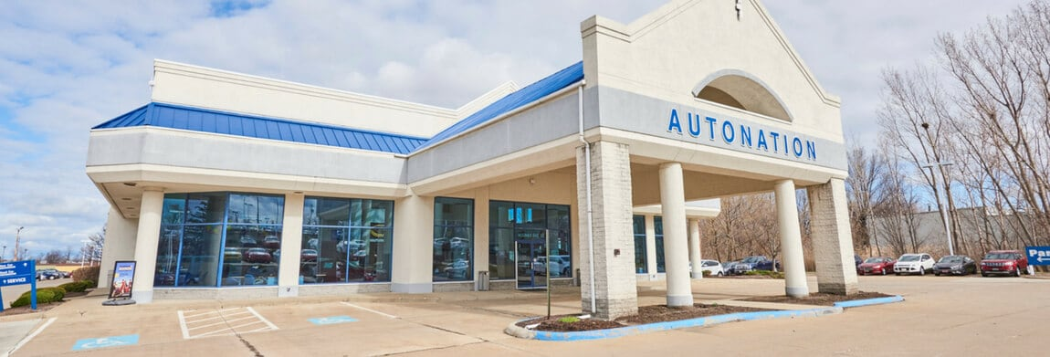 Exterior view of AutoNation Ford East