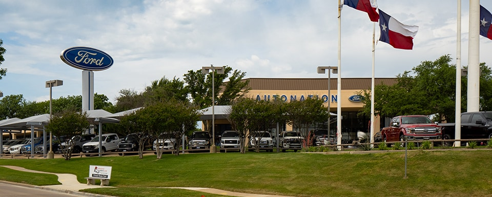 Outside view of AutoNation Ford Fort Worth