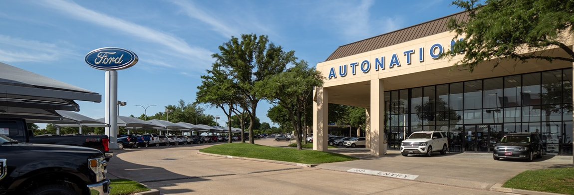 Exterior view of AutoNation Ford Fort Worth