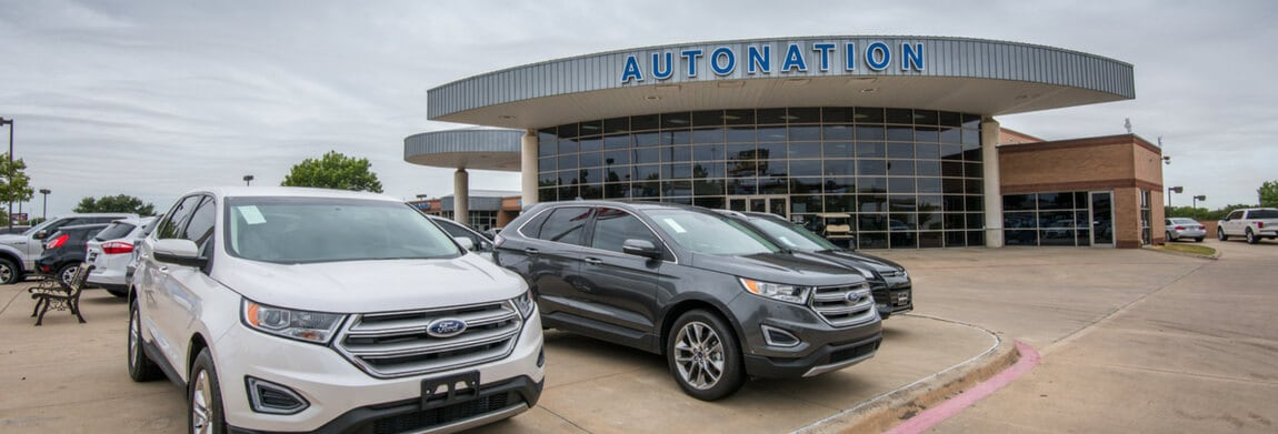 Exterior view of AutoNation Ford Frisco