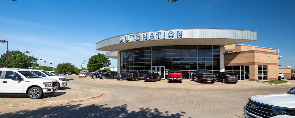 Outside view of AutoNation Ford Frisco