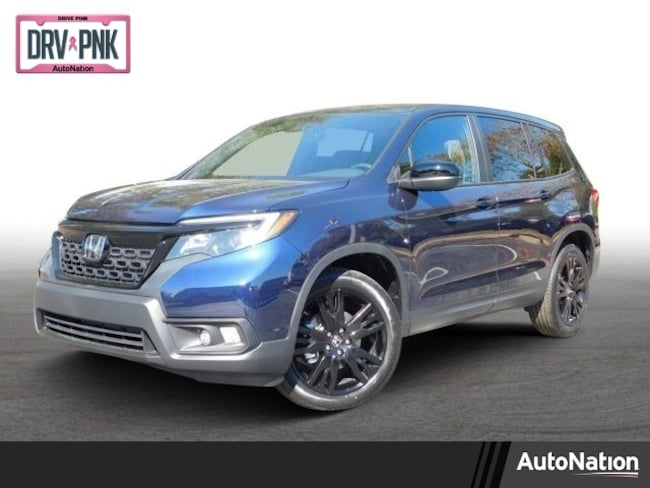 Blue Pearl Clearwater >> New 2019 Honda Passport For Sale Suv Obsidian Blue Pearl