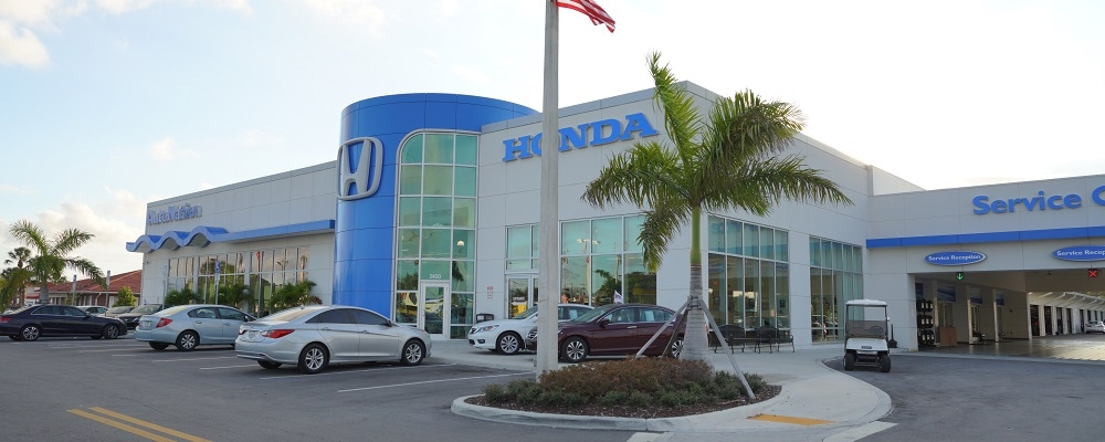 AutoNation Honda Hollywood offers Honda sales, service, and parts