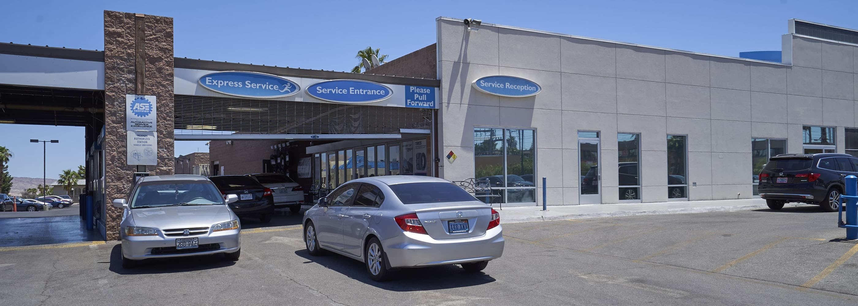 AutoNation Honda East Las Vegas Service Center