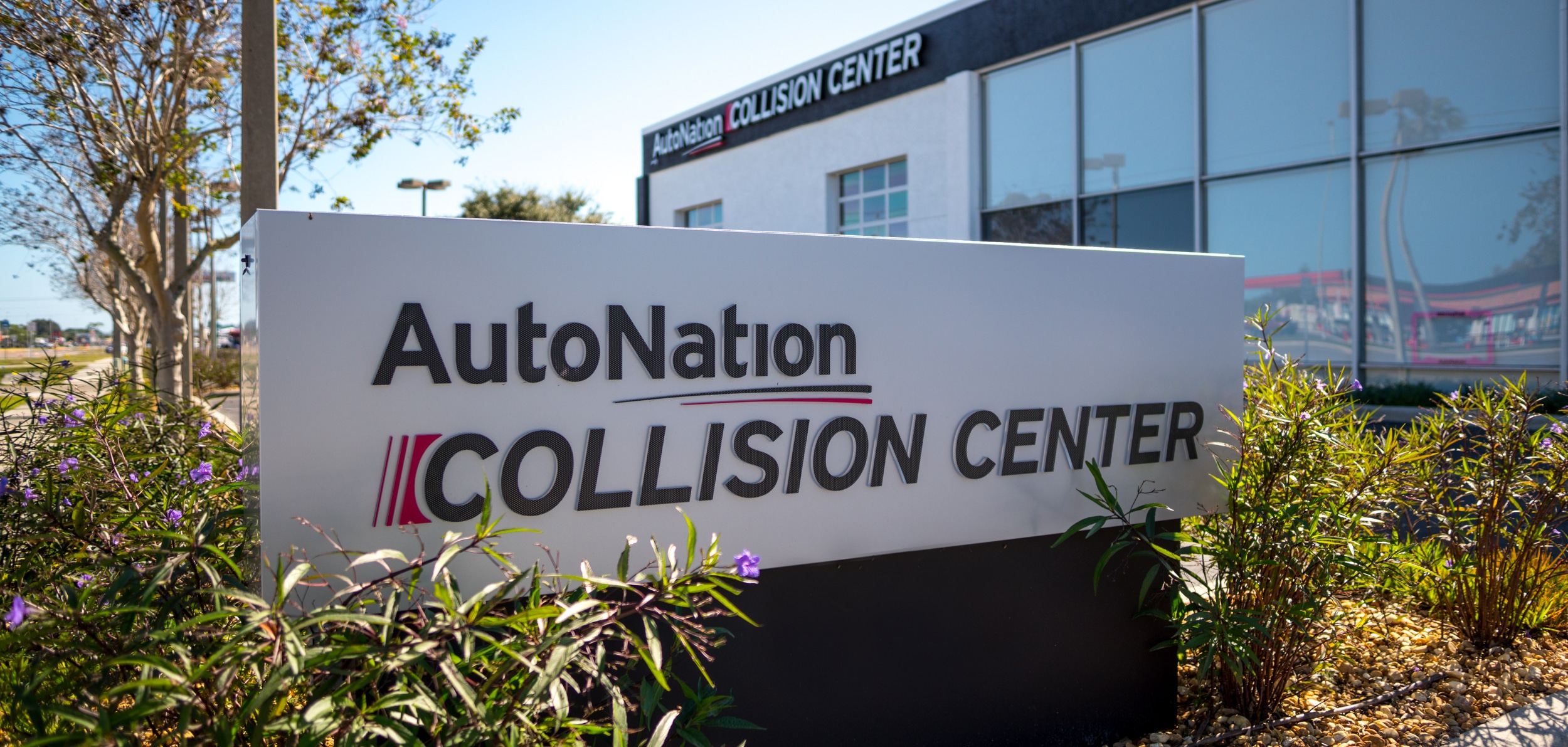 Collision Center at AutoNation Honda Lewisville