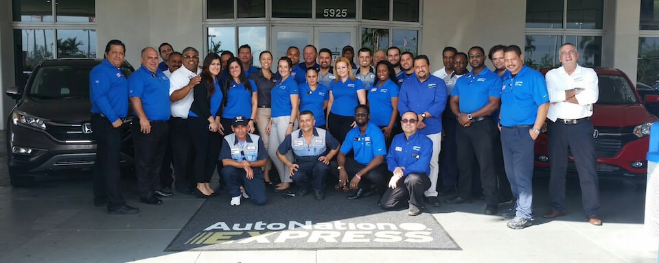 AutoNation Honda Miami Lakes Team Members