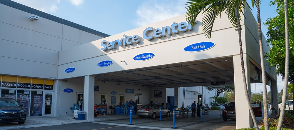 Honda Service Center Near Me Miami Lakes Fl Autonation Honda