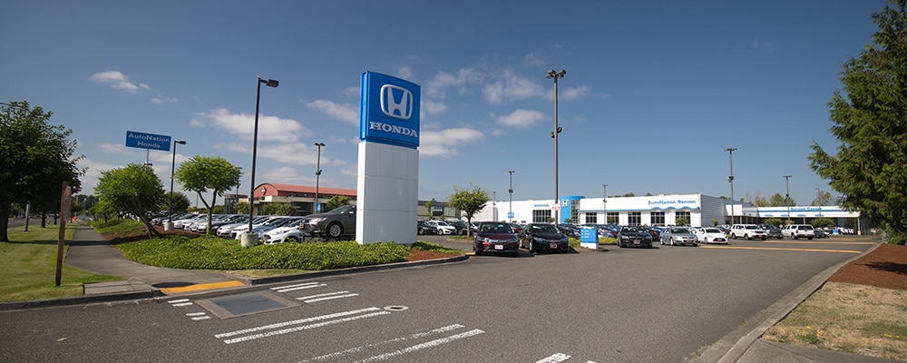 Exterior view of AutoNation Honda Renton serving Tukwila