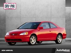 2002 Honda Civic LX w/Side SRS Coupe