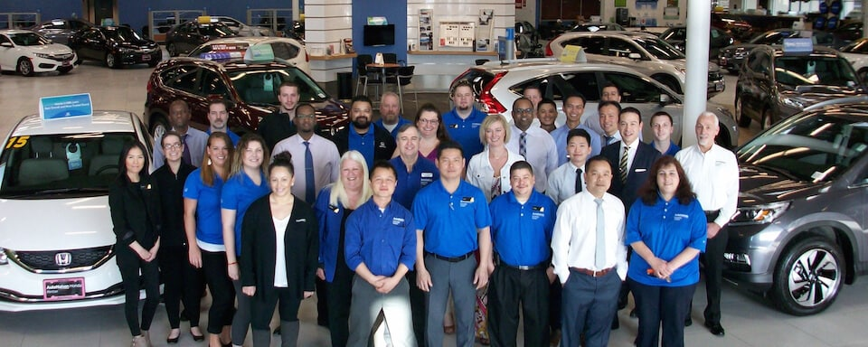 AutoNation Honda Renton Team Members
