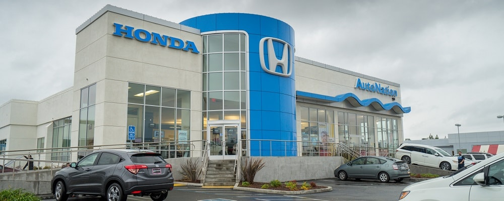 Exterior View of AutoNation Honda Roseville
