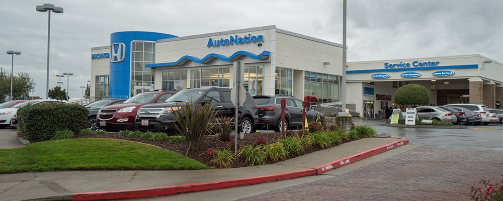 Exterior view of AutoNation Honda Roseville serving Roseville