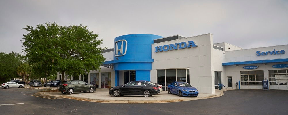 Exterior view of AutoNation Honda Sanford
