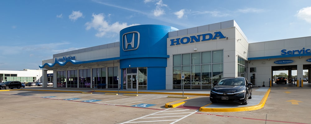 Exterior view of AutoNation Honda South Corpus Christi
