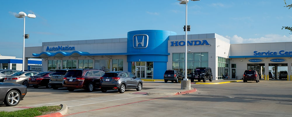 Exterior view of AutoNation Honda South Corpus Christi serving Corpus Christi