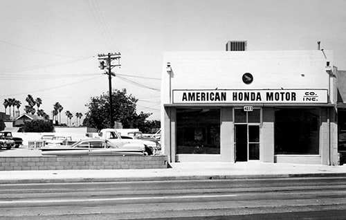 History Of Honda Motor Co In America