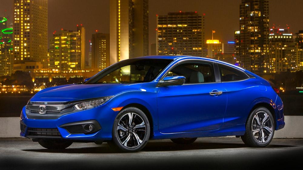 2017 Honda Civic Coupe Trim Levels