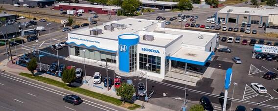 Autonation Honda Spokane Valley Dealership In Spokane