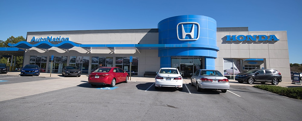 Exterior view of AutoNation Honda Thornton Road serving Lithia Springs