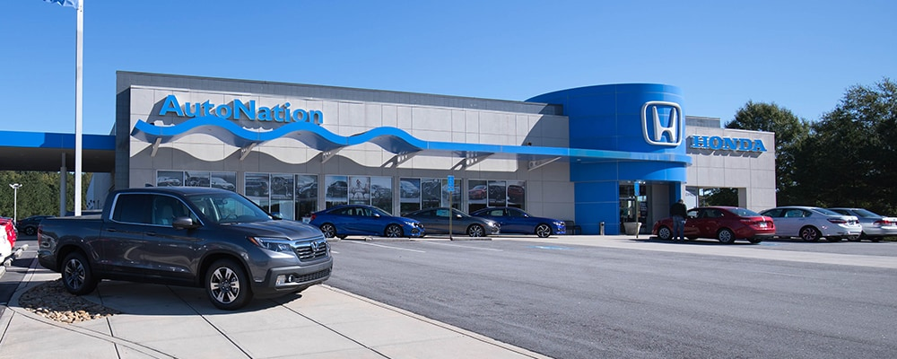 Exterior view of AutoNation Honda Thornton Road serving Mableton