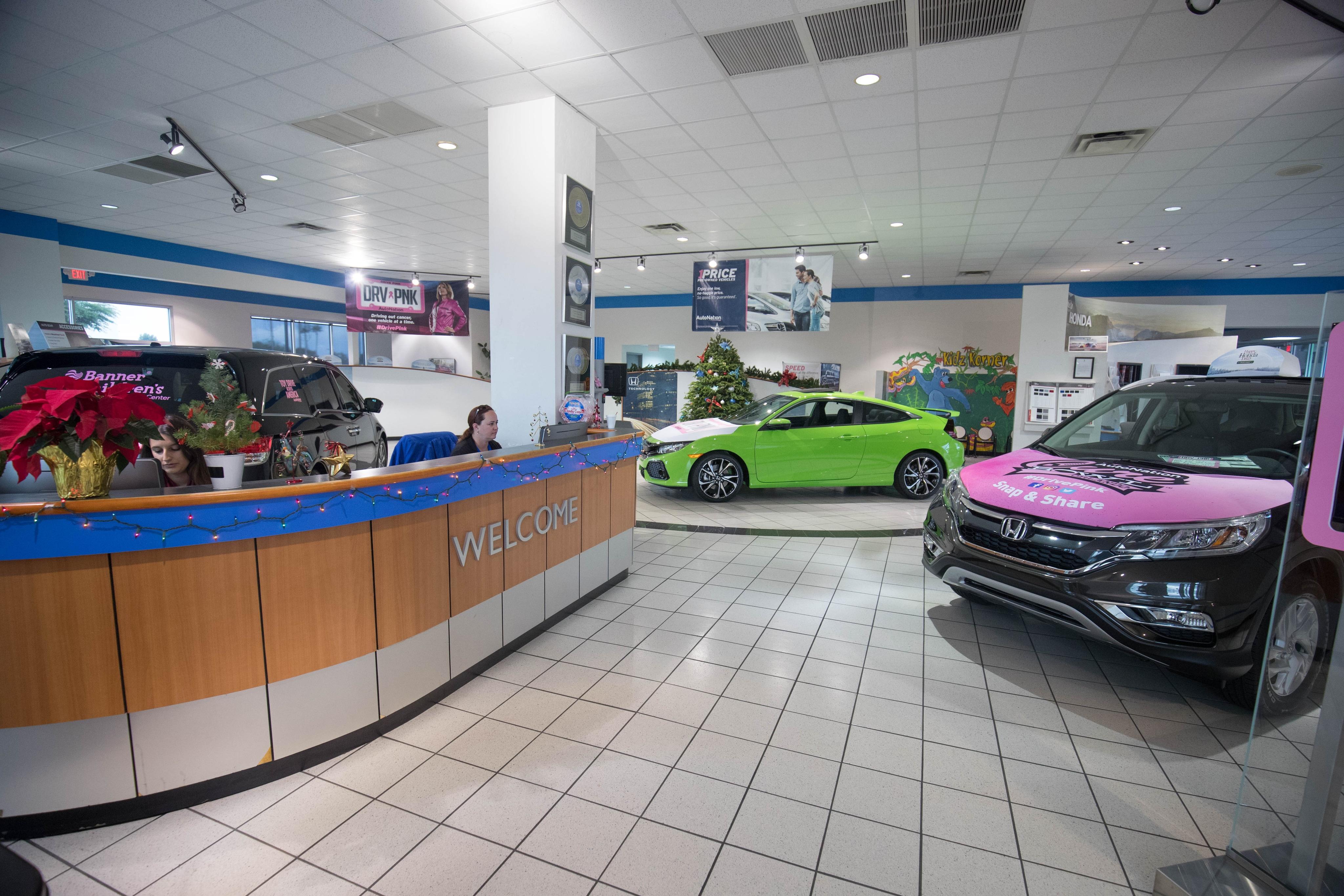 At AutoNation Honda Tucson ...