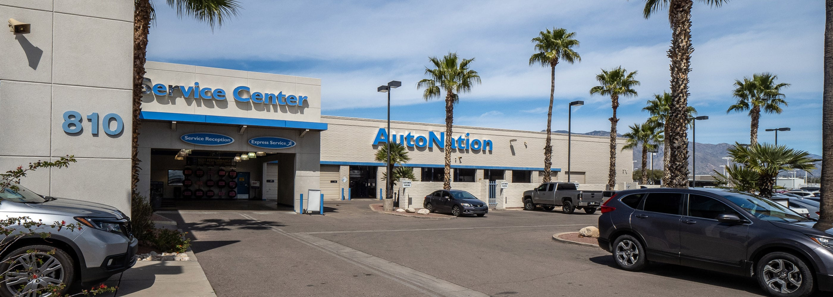 AutoNation Honda Tucson Auto Mall Service Center
