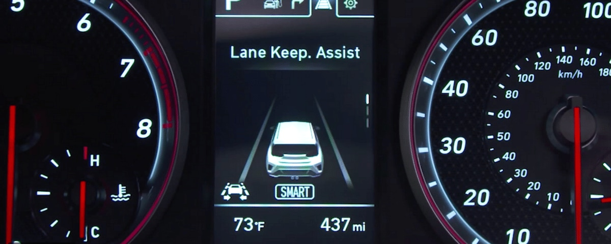 Hyundai Lane Keep Assist