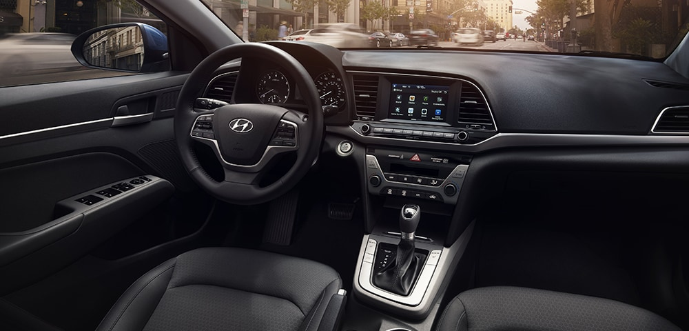 Interior photo 2018 Hyundai Elantra