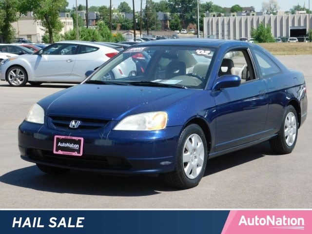 2002 Honda Civic Sedan EX 2dr Car