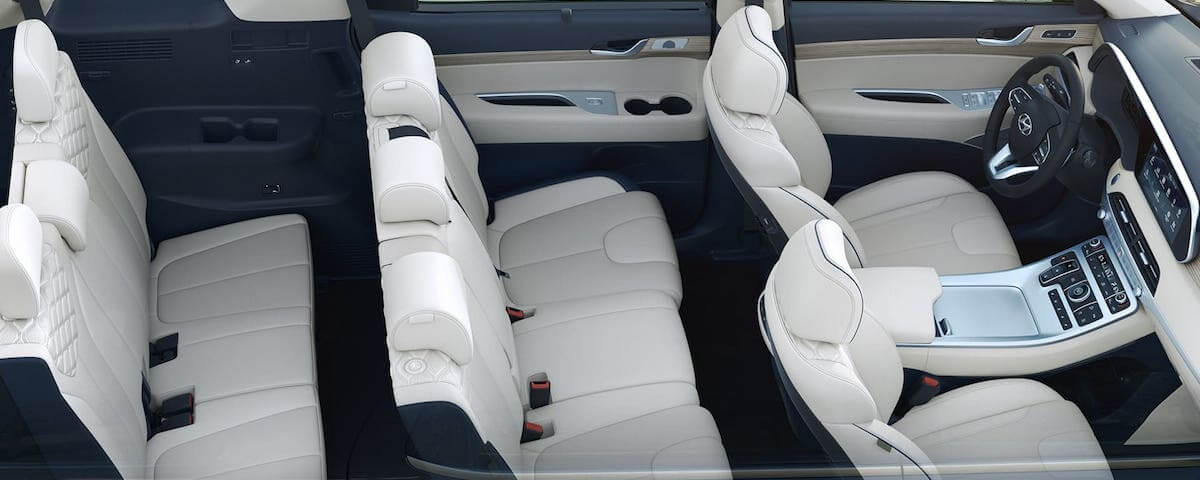 Hyundai Palisade Third-Row Seats