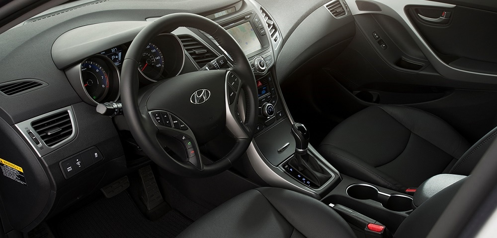 Used 2015 Hyundai Elantra Interior Near Colleyville
