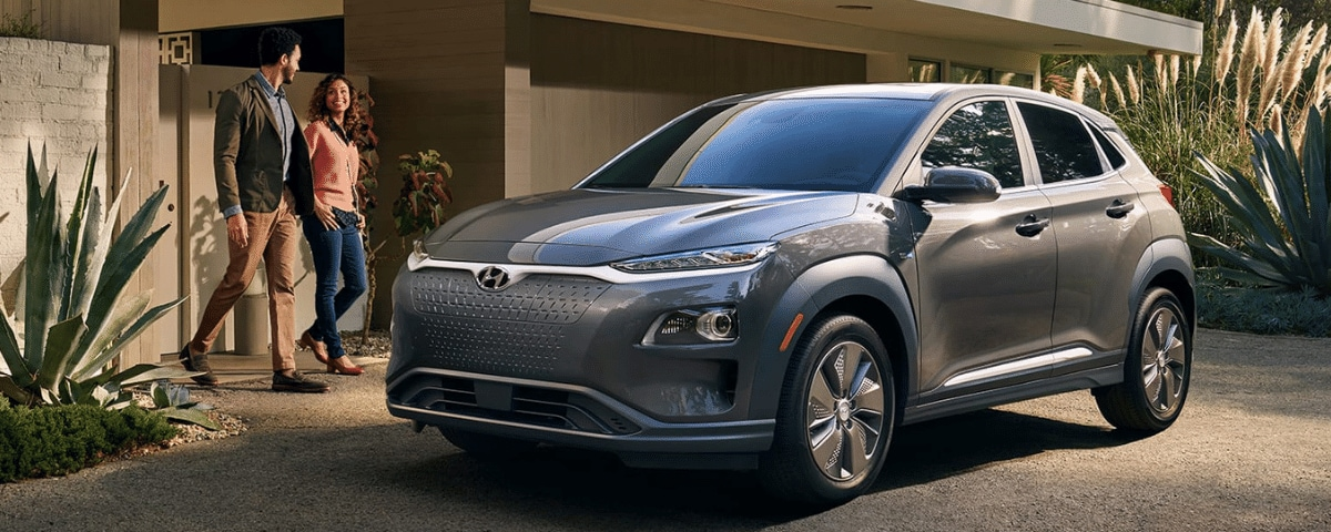 All-electric Hyundai Kona
