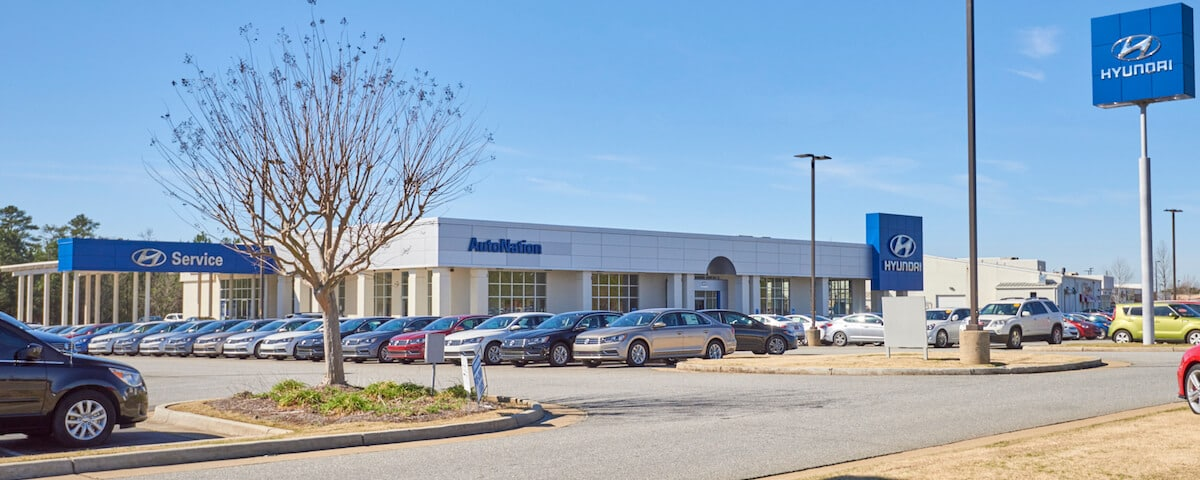 Outside view of AutoNation Hyundai Columbus