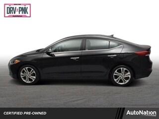 2017 Hyundai Elantra Limited 4dr Car
