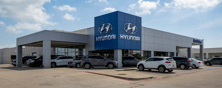 Exterior view of AutoNation Hyundai Corpus Christi dealership