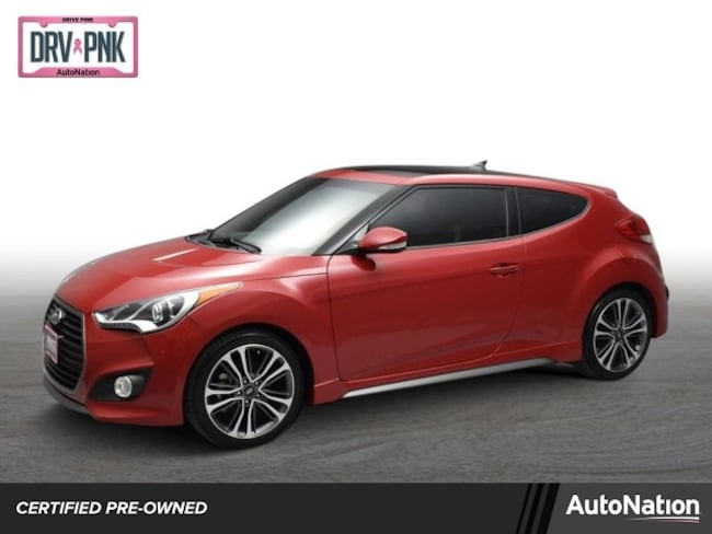 2016 Hyundai Veloster Turbo 3dr Car
