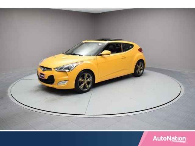 2012 Hyundai Veloster w/Black Int 3dr Car
