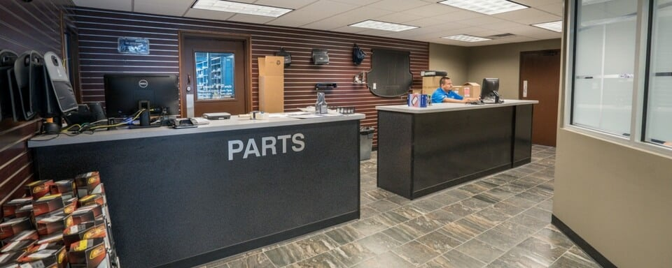AutoNation Hyundai North Richland Hills Parts Department with Hyundai parts for sale