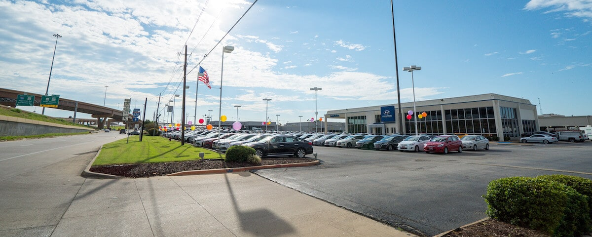 Outside view of AutoNation Hyundai North Richland Hills