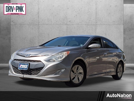 2013 Hyundai Sonata Hybrid 4dr Car