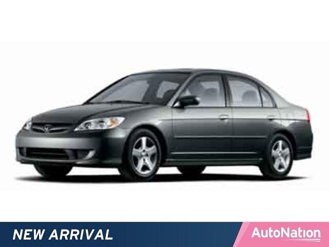 2004 Honda Civic Sedan EX 4dr Car