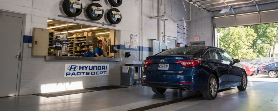 AutoNation Hyundai O'Hare Parts Department with Hyundai parts for sale