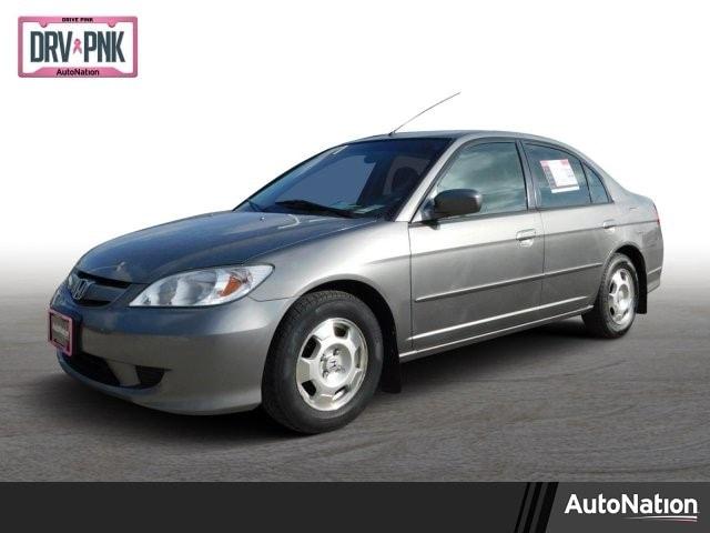 2005 Honda Civic Hybrid 4dr Car