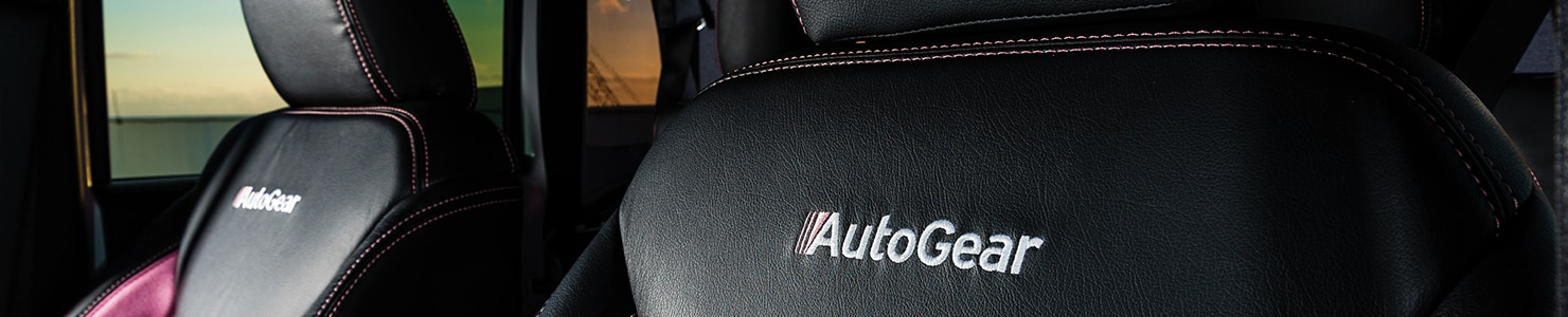 AutoNation AutoGear leather interior
