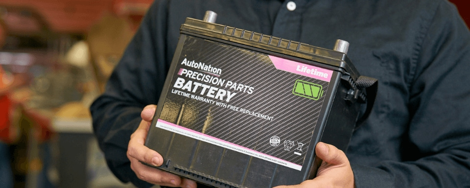 AutoNation precision parts battery
