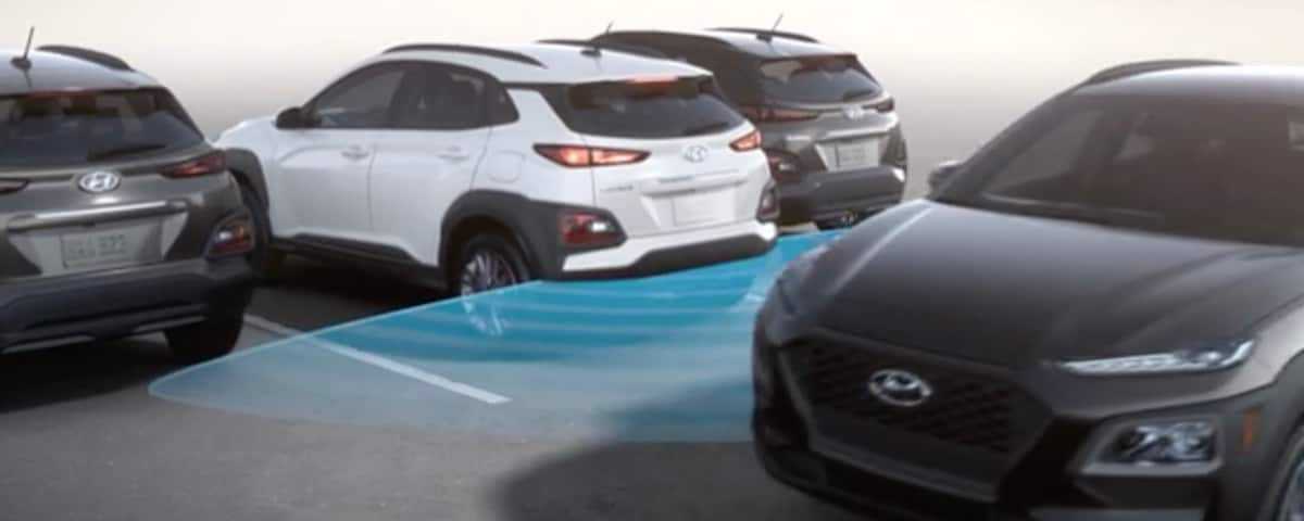 Hyundai Rear Cross-Traffic Collision-Avoidance Demonstration