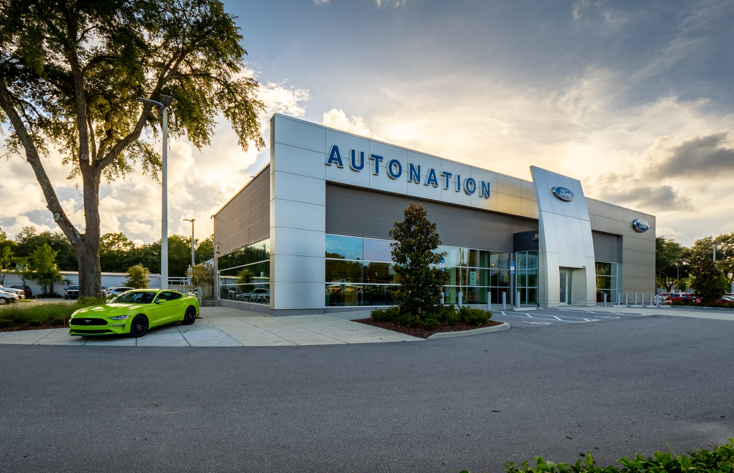 Exterior view of AutoNation Ford Jacksonville